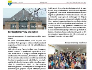 2014-07 Tordasi Kisbíró cikk