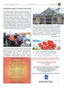 """""""015 Erdélyben-Sepsiszentgyörgyön, cikk"""
